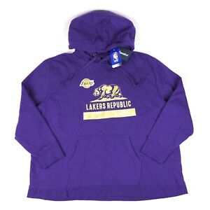 Los Angeles Lakers Republic Hometown Collection Womens 3XL Pullover Hoodie