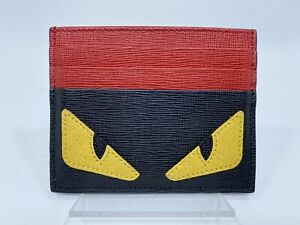 Fendi Multicolour Card Holder with the Bag Bugs Eye Pattern
