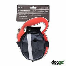 Doggo Dog Leash Accessory WASTE BAG HOLDER For Retractable Med Large Flexi