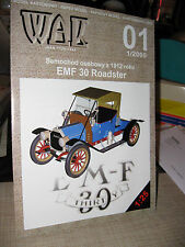 SAMOCHODU 1912 EMF 30 RAODSTER PAPER CAR KIT