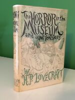 1st Edition The Horror in the Museum & Other Revisions HP Lovecraft Arkham House