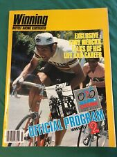 Winning Bicycle Racing Premier Plus Magazine No.1 NOS