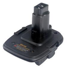 USB Battery Adapter For Milwaukee M18&Dewalt DCB20V 20V Convert To 18V DC9096
