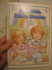 Fun with Bible Stories by Current 1987 Christian Religious Jesus