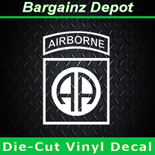 82nd AIRBORNE Insignia... Awesome Military Car Laptop Sticker Vinyl Decal