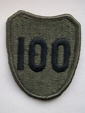 US Army 100th Infantry Division Subdued Shoulder Patch.