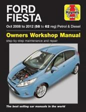 Haynes Workshop Manual Ford Fiesta Petrol Diesel 2008-2012 Repair 58-62 Reg
