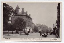 """""POSTCARD HIGH STREET AND FIRE STATION,LEWISHAM,LONDON"""""