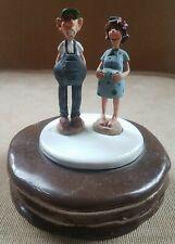 Redneck Wedding Cake Topper Top Alabama Sculpture Pregnant rollers overalls