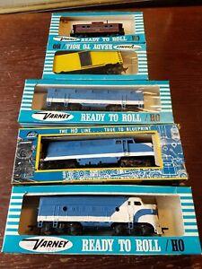 Vintage Lot Of Varney,Tyco,AHM HO Train Cars And Engines