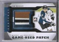 SAM REINHART 12/13 ITG GAME USED Patch #M-15 SILVER VERSION /10