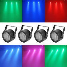 4 Pcs Wall Wash Can Par Light Mini 86 LEDs RGB DMX512 7CH for KTV Wedding