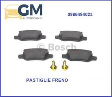 PASTIGLIE FRENO POST. BOSCH 0986494023 MERCEDES CLASSE B (W245) B 200 TURBO