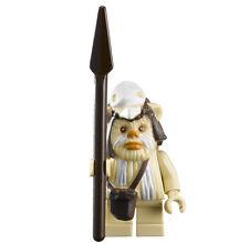 NEW LEGO STAR WARS LOGRAY MINIFIG ewok figure minifigure 7956 10236 toy