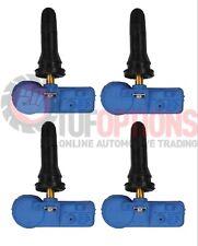SET OF 4 Holden Colorado RG TPMS Valve Assemblies - Blue Schrader Type