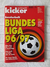 Kicker Sonderheft  Bundesliga 96/97
