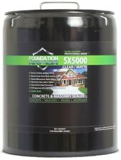 5 Gal Clear Solvent Based Silane Siloxane Concrete Masonry Sealer Waterproofer