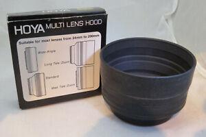 Hoya 52mm Multi Lens Hood - Never Used
