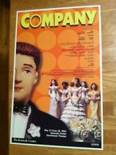 COMPANY Window Card JOHN BARROWMAN (Dr. WHO-ARROW-TORCHWOOD) LYNN REDGRAVE MINT