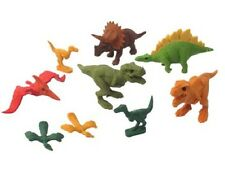 IWAKO Dinosaur Eraser 9pc Set Blister Pack ER-BRI044