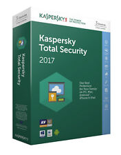 Kaspersky Total Security 2017 3 Devices 1 Year Licence