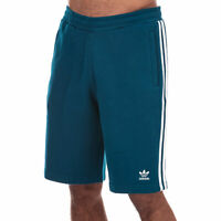 Mens adidas Originals 3-Stripe Shorts In Navy