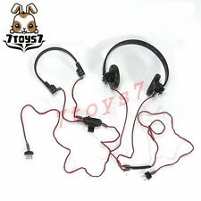 DID 1/6 WWII German Panzer Officer - Joachim_ Headphone set _Now DD071F