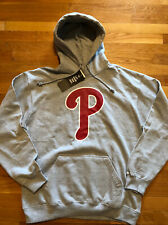 Philadelphia Phillies 47 Brand Mens Hoodie Size 2XL Nwt Gray