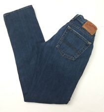 Lucky Brand Distressed  Denim Blue Jeans By Gene Montesano Women's Size: 2 /26