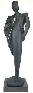 "Austin Productions Art Deco Vogue High Fashion Gentleman 32"" Sculpture A Danel"