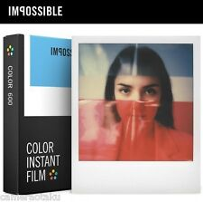 *NEW* Impossible Project COLOR FILM FOR Polaroid Type 600 White frame Australian