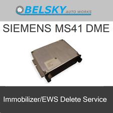 BMW MS41 41.1/41.2 DME ECU EWS Delete Immo Off Tune SERVICE - E36 E39 Z3 Z3M M3