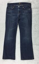 7 For All Mankind Stretch Boot Cut Women's Denim Jeans Size 29