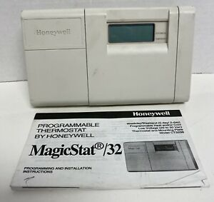 Honeywell MagicStat/32 5-2 Day Programmable Thermostat CT3200A 1001