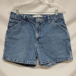 Vintage Tommy Hilfiger Jeans Carpenter Mom Shorts Women's Size 8 Hammer Loop