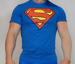 MEN'S SUPERMAN T-SHIRT ADULT LARGE