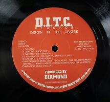 "D.I.T.C. DIGGIN IN THE CRATES Day One 12"" Diamond-D original promo hiphop rap 97"