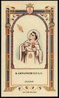 santino-holy card B.GIOVANNI DE LUCA mercedario