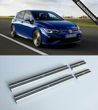 VW Golf Mk8 R & R-Line (Released 2020) Stainless Sill Protectors / Kick Plates