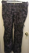 Tokidoki Ride HTF Snowboard Pants Black Gray XL