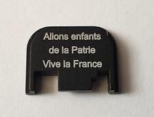 Cover Vive La France  ornement culasse glock - NEUF ( glock 17 19 34 )