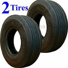 TWO 13x5.00-6 13/500-6 Riding Mower TIRES fits some John Deere Troy Husqvarna