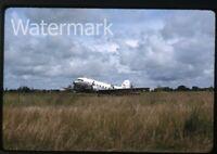 1964  kodachrome Photo slide USAF Military Airplane Thailand #1 C-47/C-46 ??