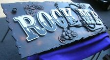 3D SIGN ART indoor display for your BUSINESS lobby area CUSTOM - INFO ONLY New