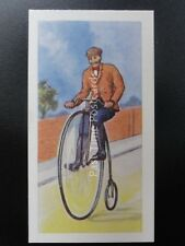 No.7 PENNY FARTHING BICYCLE - Transport Through the Ages by Ewbanks Ltd 1957