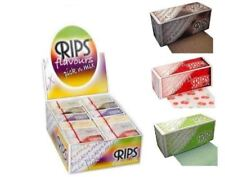 ANY 12 X RIPS FLAVOURED CIGARETTE ROLLING PAPER RIZLA