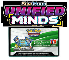 50x Unified Minds Pokemon TCG Online Booster Code EMAILED FAST (ebay email)