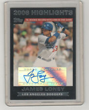 2007 TOPPS JAMES LONEY AUTOGRAPH ROOKIE HIGHLIGHTS CARD
