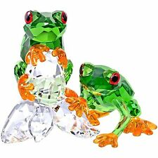 Swarovski Frogs # 5136807 New  in Original Box