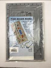 "WESTRIM plastic Jewelry making Bracelet Bead Design Board Tray Gray, 9"" X 14"""